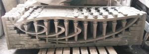 Плита еврозабора (Крымский камень - гачек)