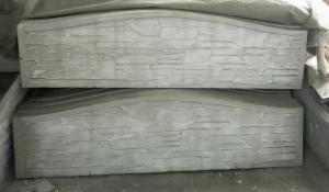 Плита еврозабора (Крымский камень - горбатый)
