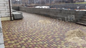 догляд за тротуарною плиткию