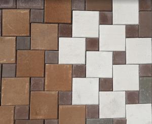 тротуарная плитка Мозаика (Б) от компании Unikfem